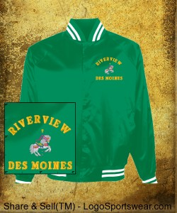 North Riverview Coach's Jacket Design Zoom