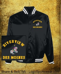 Riverview Coach's Jacket Design Zoom