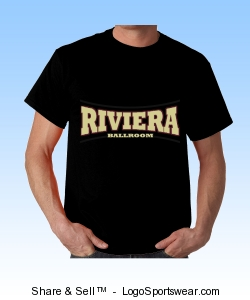 Riviera Ballroom, Adult T-shirt Design Zoom